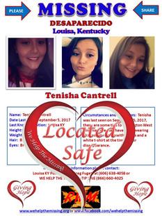 Cantrell, Tenisha
