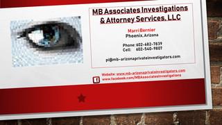 MB Associates Investigations & Attorney Services, LLC