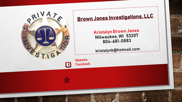 Brown Jones Investigations, LLC