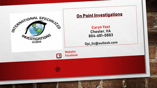 On Point Investigations
