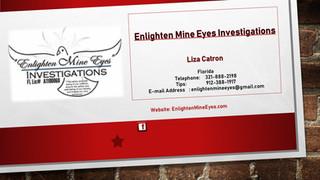Enlighten Mine Eyes