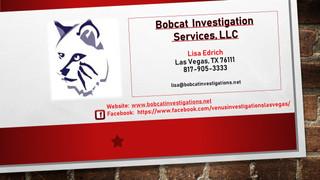 Bobcat Investigations