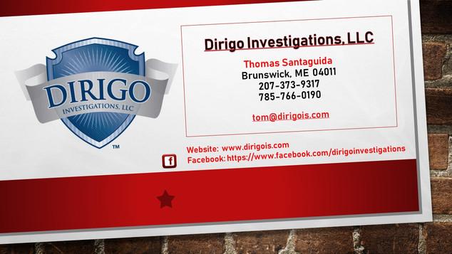 Dirigo Investigations, LLC