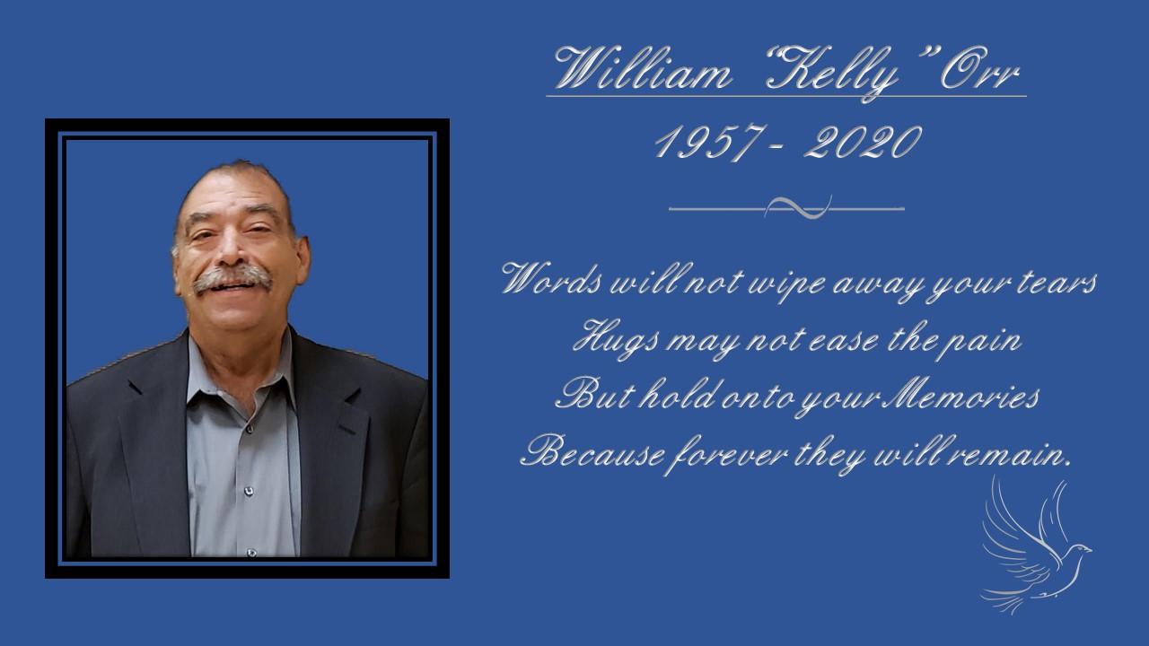 """William """"Kelly"""" Orr"""