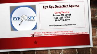 Eye Spy Detective Agency