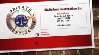 Bill DeRose Investigations Inc