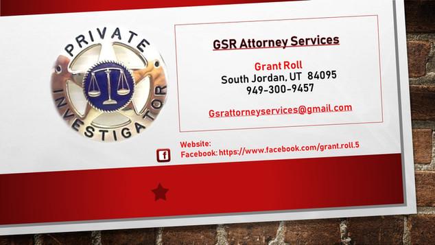 GSR Attorney Services