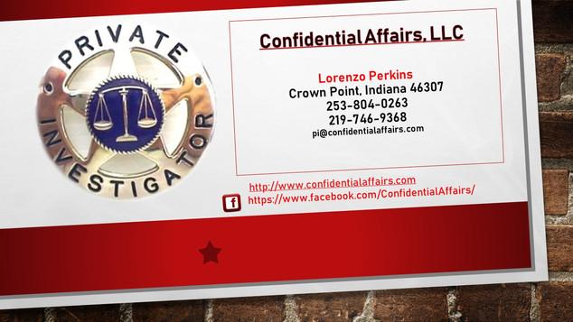 Confidential Affairs, LLC
