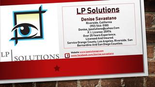 LP Solutions