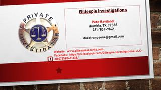Gillespie Investigations