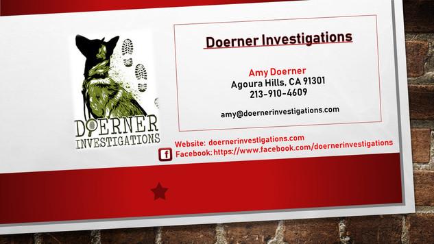 Doerner Investigations