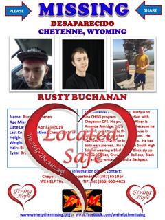 Buchanan, Rusty