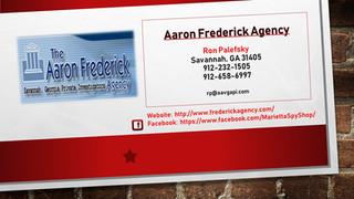 Aaron Frederick Agency