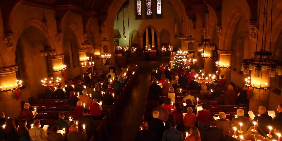 Christmas Eve Lessons and Carols Candlelight Service