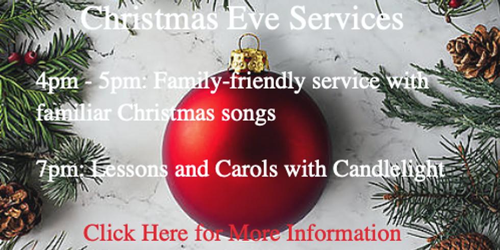 Christmas Eve - Family-friendly Worship Service