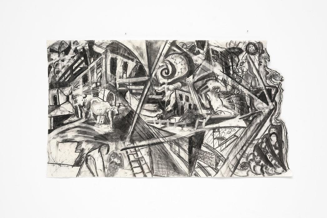 Michael Reinhold, Michael Reinhold artist, Michael Reinhold paintings, Michael Reinhold Kunst, Erased Bar Mitzwa, Soddom and Gommorah and Zurich paintings, Swiss Surrealism, Swiss Artist