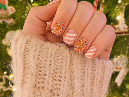 Christmast Design Ideas For Short Nails - Colorado Springs