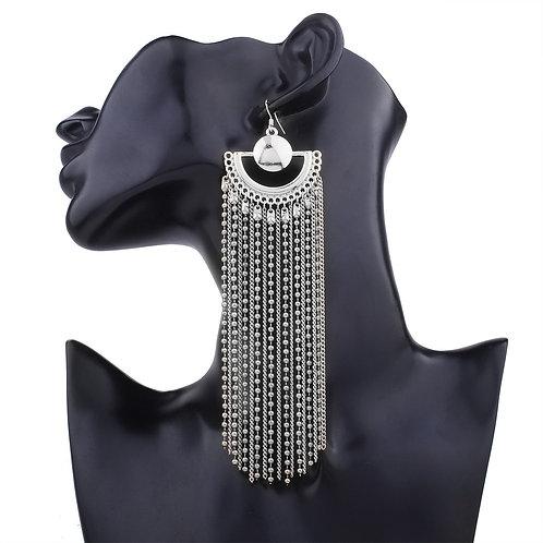 Silver Chandaler earrings