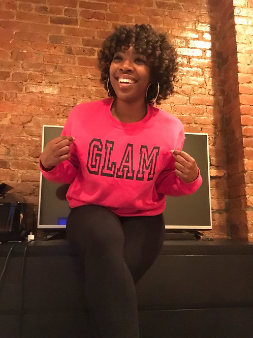 Glam official hoodie