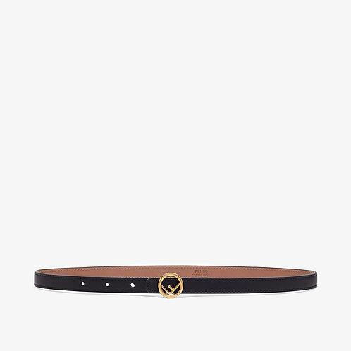 Fendi Black leather belt