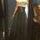 Thumbnail: Leather flare skirt.