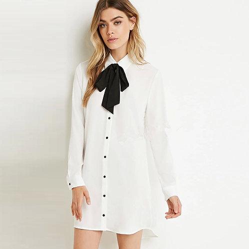Madonna shirt dress
