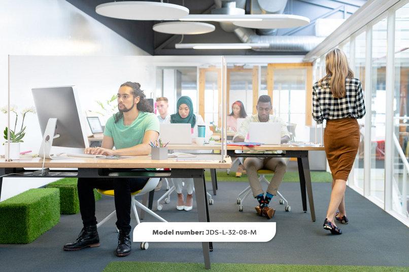 L Shape Desk Wrap