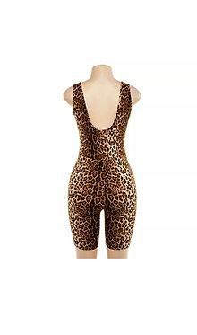 Laid in Leopard Romper