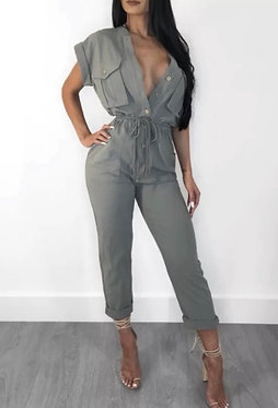 Around The Way Girl Jumpsuit