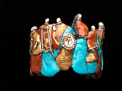 Clan Bracelet - Bronze