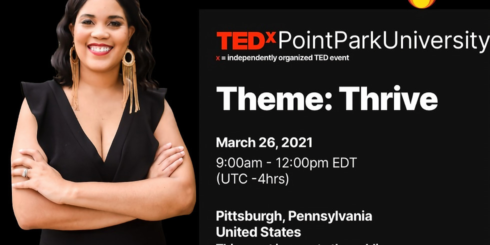 TEDxPointParkUniversity x = independently organized TED event