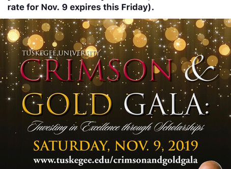 Crimson and Gold Gala 2019