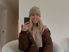 3 Ways to Style a Brown Puffer