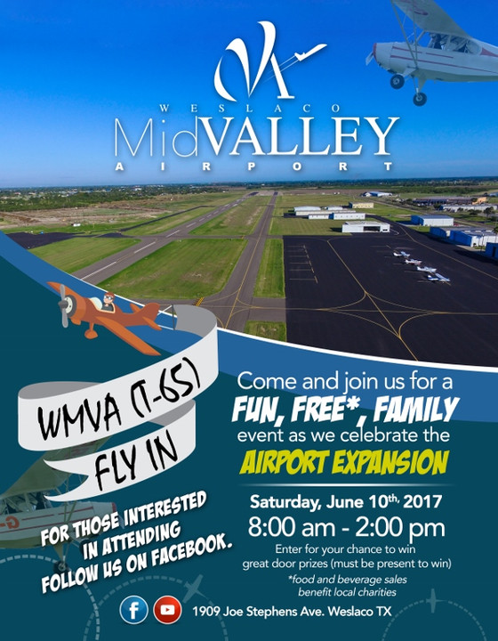 Weslaco MidValley Airport Fly In