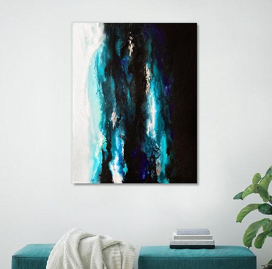Under The Light Canvas Print
