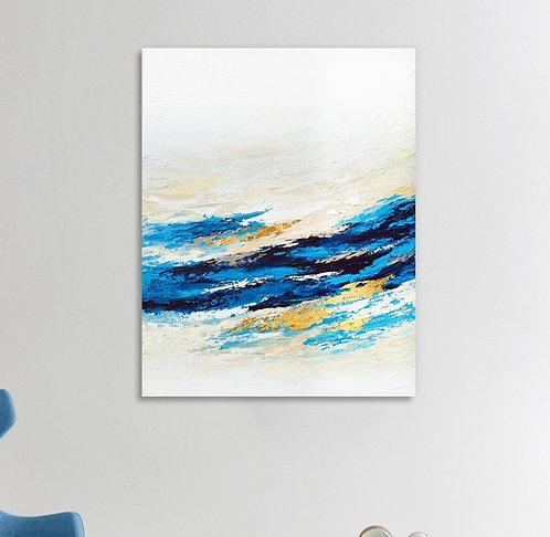 Serenity Wave Canvas Print