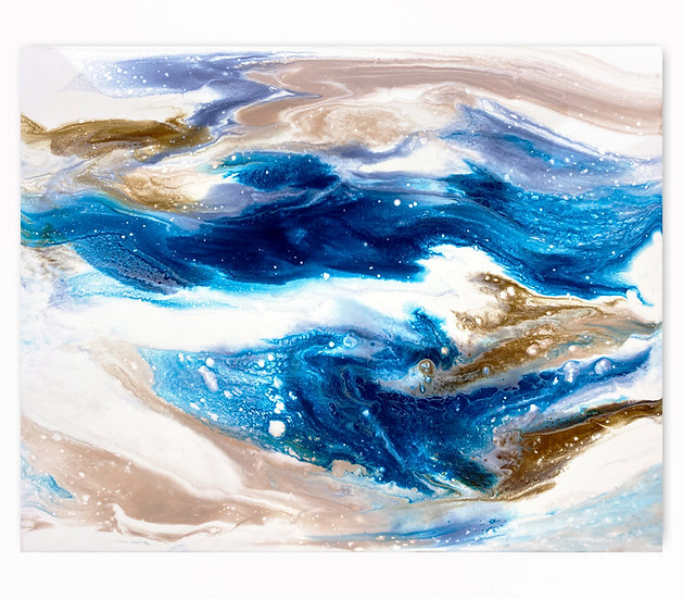 Sapphire Wave *Paint To Order