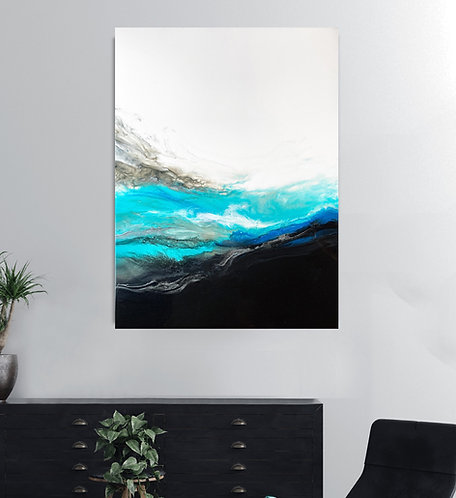 Resounding Wave Canvas Print