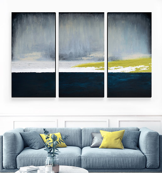 Reverence Triptych Canvas Print