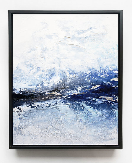 Frozen Ocean Canvas Print