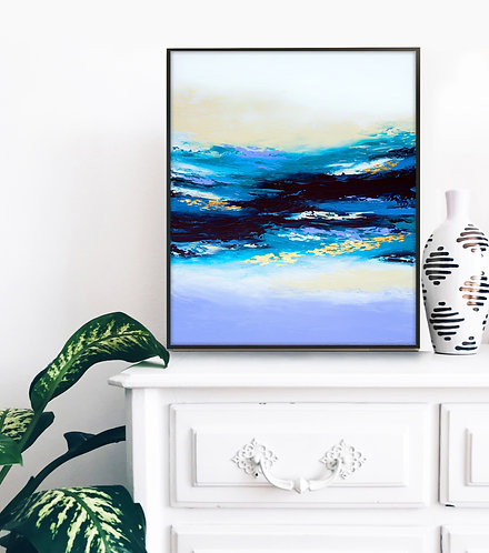 Deep Serenity Canvas Print