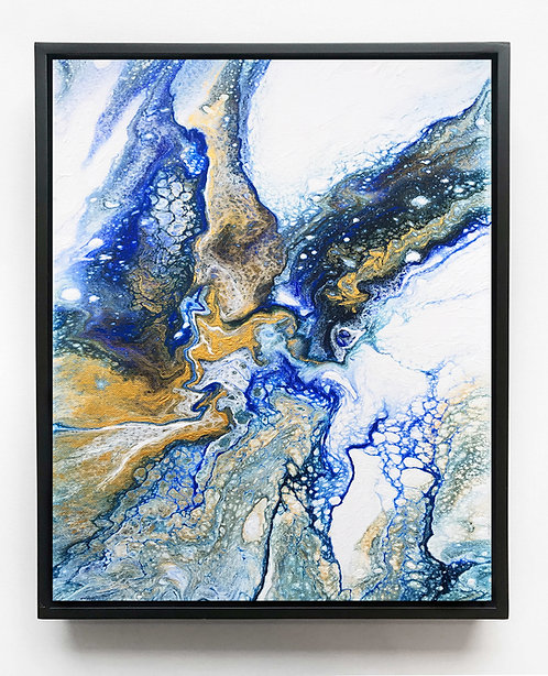Oceanic Jasper Canvas Print