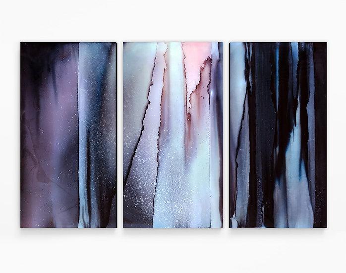 Focus Triptych Canvas Print