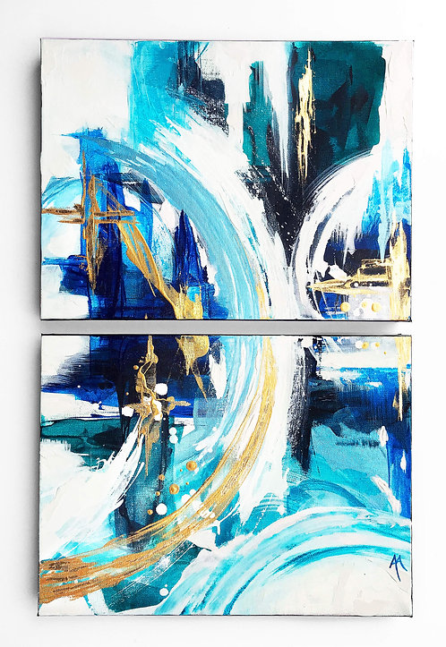 Azure Gold *Paint To Order