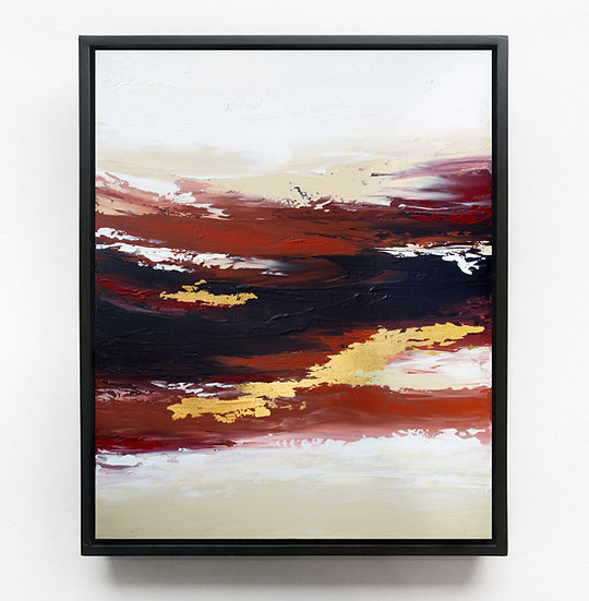 Burnt Sunset Canvas Print
