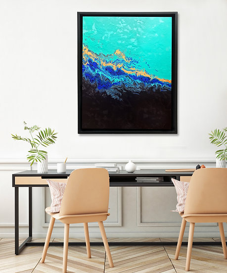Black Rock City Canvas Print