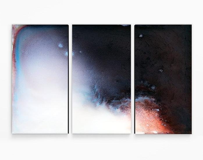 Ascension Triptych Canvas Print