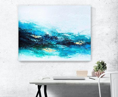 Flourishing Wave Canvas Print