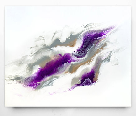 Grey And Violet Skies *Paint To Order