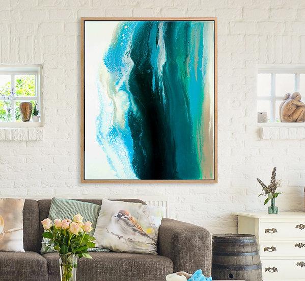 Risen Horizontal Canvas Print